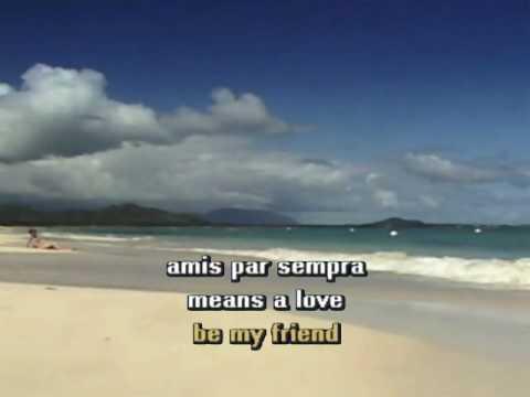 Karaoke - Amigos Para Siempre(Friends For Life) - Sarah Brightman & Jose Carreras