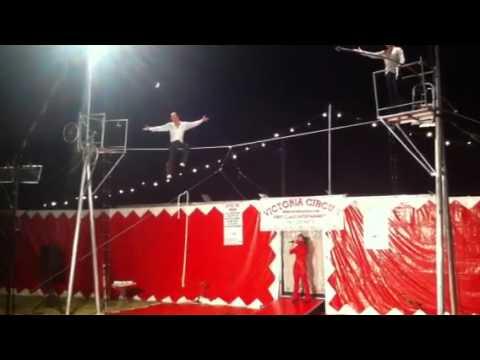 Crazy circus act
