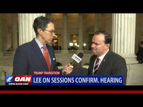 Sen. Mike Lee on Sessions Confirmation Hearing