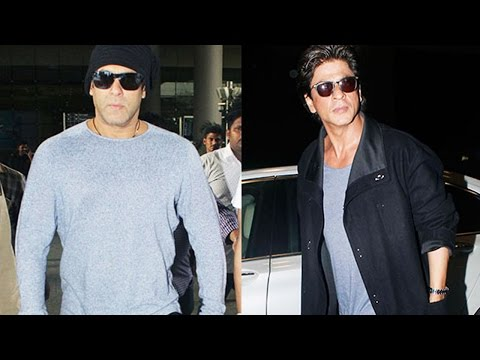 Thumbnail: Shahrukh Khan Or Salman Khan - Whose Airport Style Is Cool - SWAG!
