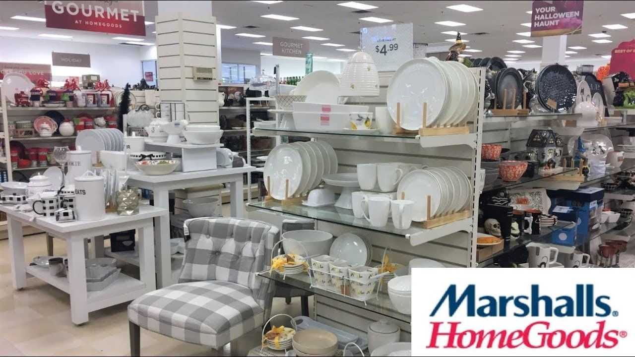 MARSHALLS HOME GOODS FALL CHRISTMAS KITCHEN KITCHENWARE SHOP WITH ME  SHOPPING STORE WALK THROUGH