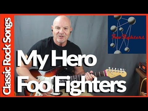 My Hero By Foo Fighters - Guitar Lesson Tutorial