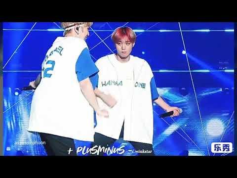 Jihoon Judging Wanna One Members