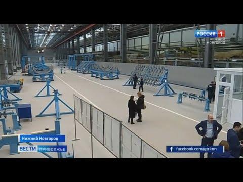 В Нижнем Новгороде начали сборку первого серийного самолёта ИЛ 114-300