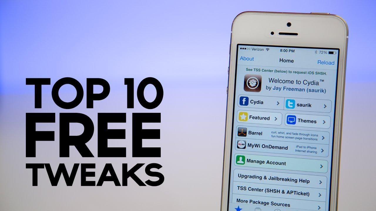 Ios 7 Jailbreak Top 10 Free Tweaks For Ios 7 Youtube