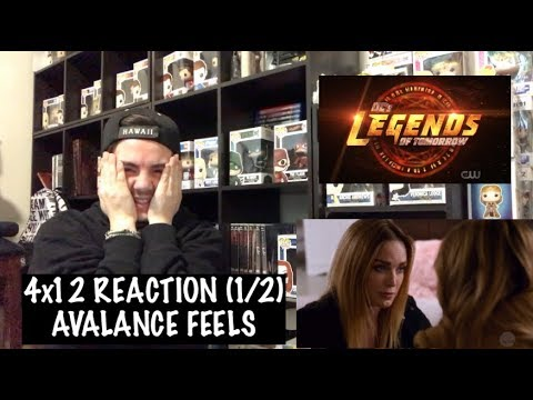 LEGENDS OF TOMORROW - 4x12 'THE EGGPLANT, THE WITCH & THE WARDROBE' REACTION (1/2)