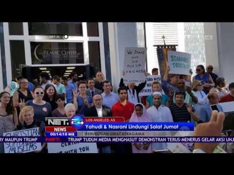 Suasana Solat Jumat di Los Angeles Islamic Center Pasca Terpilihnya Donald Trump - NET24