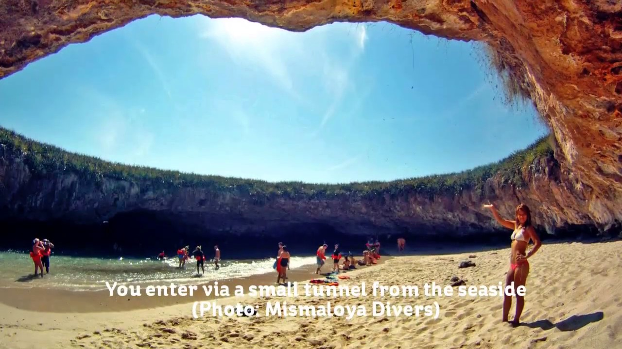 The Marieta Islands Islas Marietas Hidden Beach Puerto Vallarta Jalisco Mexico