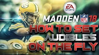 Madden 18 Tips: How to Set Audibles on the Fly