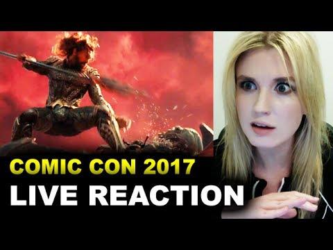 Justice League Comic Con Trailer 2017 REACTION