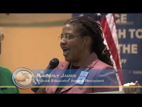 2010 Milken Educator Awards Kimberly James, High Point, NC
