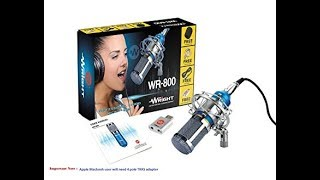 Wright wr 800 condenser microphone | Unboxing | Review | Setup | Audio Samples Included