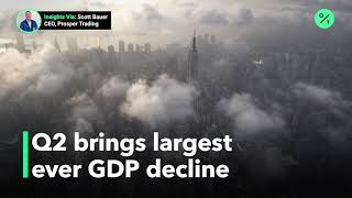 U.S. GDP Fell By Almost 33% In The Second Quarter Of 2020