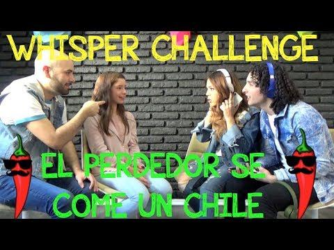 Whisper Challenge con Los Rules/ La bala