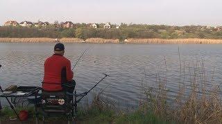 Весенняя ловля карася фидером. О рыбалке всерьез. Выпуск 390HD