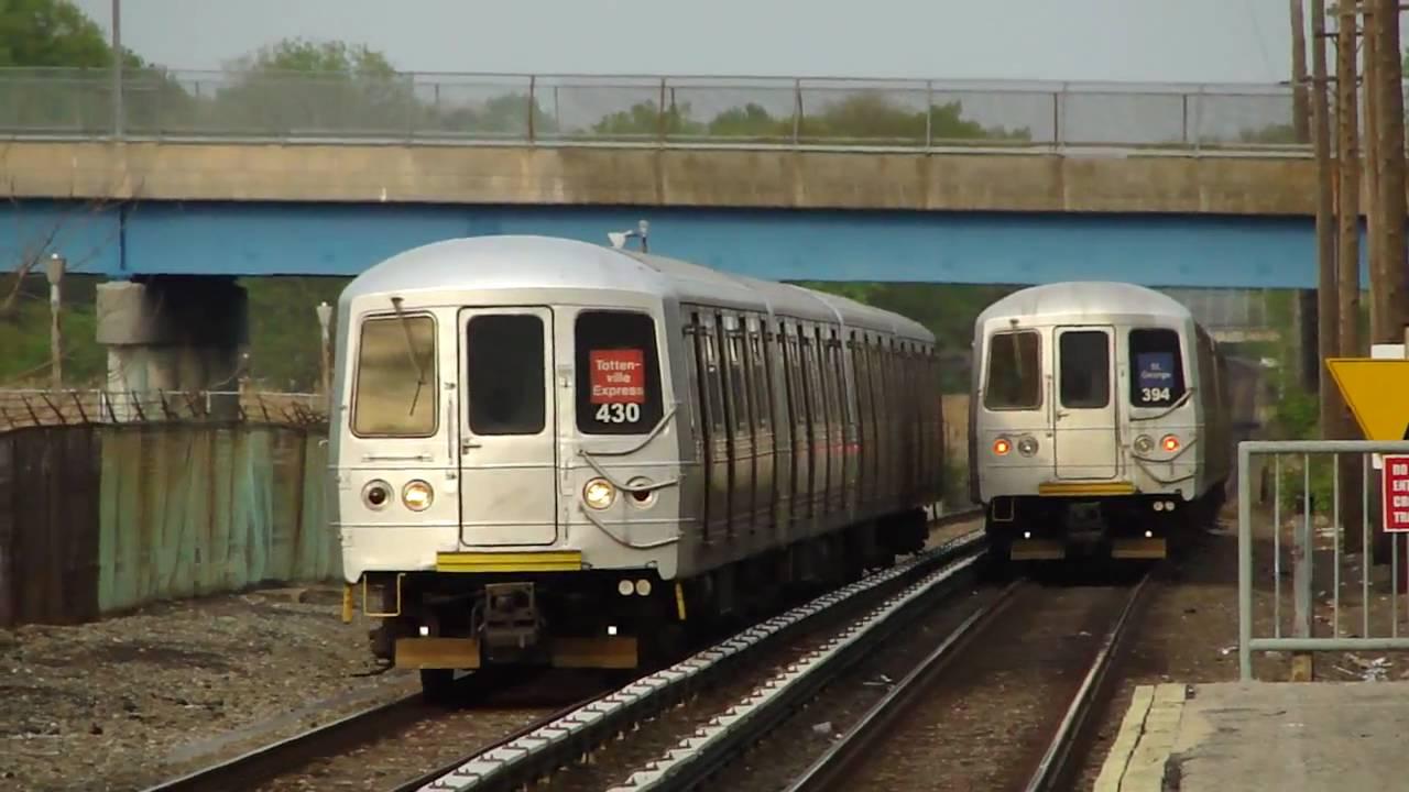 MTA Staten Island Railway : St. George & Tottenville Bound