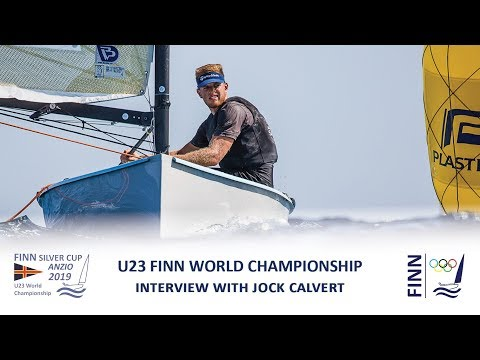 2019 Finn Silver Cup - Interview with Jock Calvert