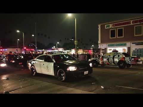 $UICIDEBOY$ RIOT AT FTPxFUCT POP UP IN LA