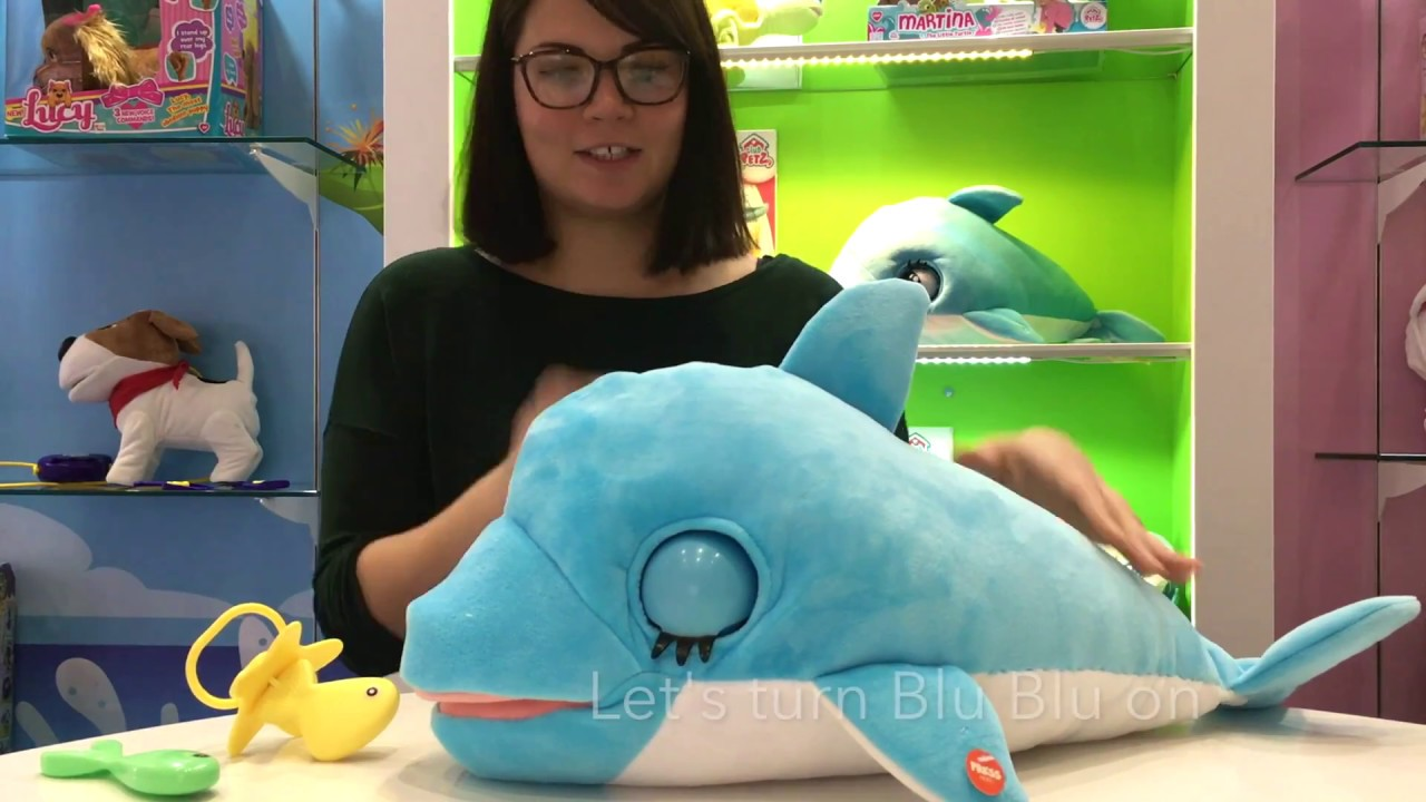 How To Play With Blu Blu The Baby Dolphin From Club Petz