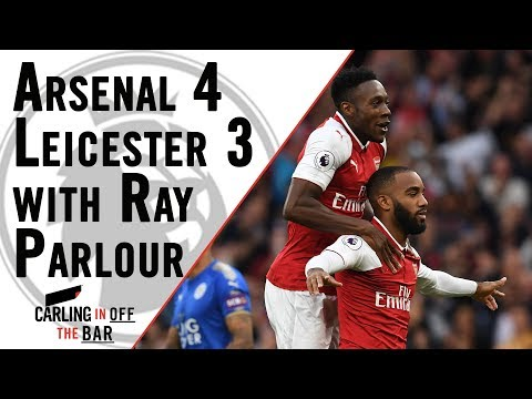 Carling In Off The Bar - Arsenal 4-3 Leicester City Post-match reaction!