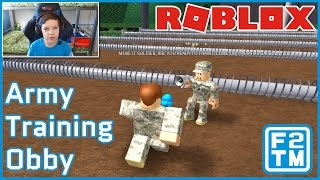 Roblox Army Training Obby (I VISITED CHECKPOINT CHARLIE IN BERLIN, GERMANY!!!)