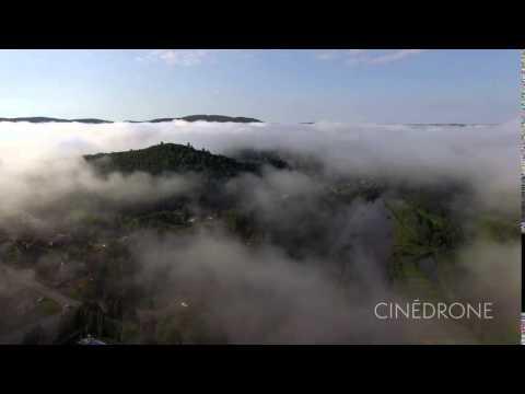 Cinedrone - Sainte-Adèle, Laurentides, vue du ciel