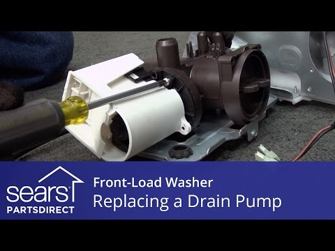 Replacing the Drain Pump on a Front-Load Washer - YouTubeYouTube