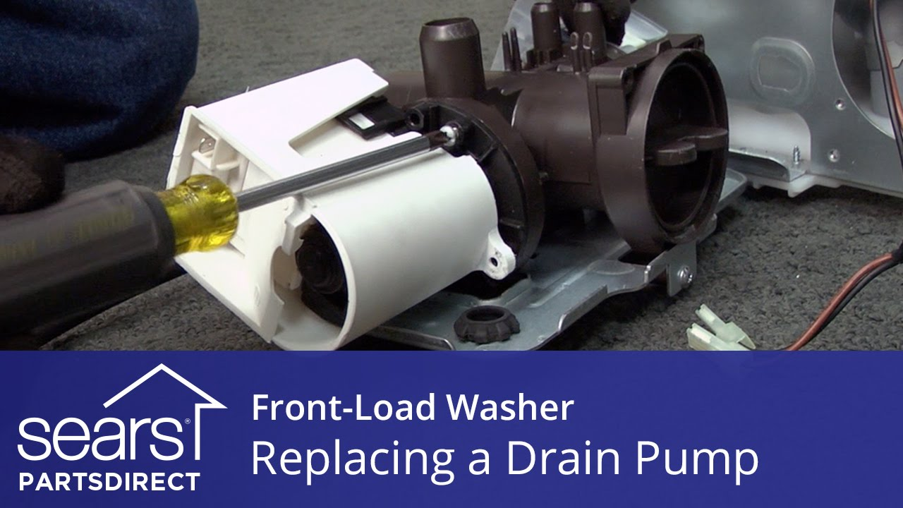 maxresdefault replacing the drain pump on a front load washer youtube