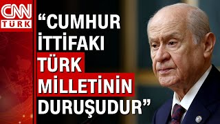 MHP Genel Başkanı Devlet Bahçeli Bahçeliden \erken seçim\ tepkisi