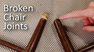 Fix Broken Chair Joints (Mortise and Tenon)
