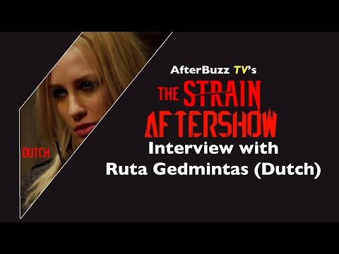 Ruta Gedmintas Dutch   The Strain After  Season 1  AfterBuzz TV
