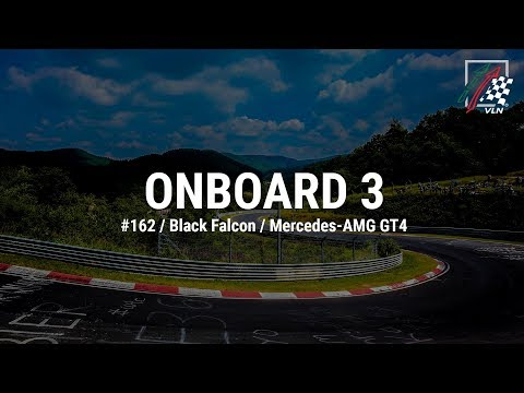 Onboard 3: #162 / Black Falcon / Mercedes-AMG GT4