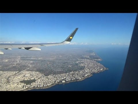 Takeoff from Antalya Airport - Thomas Cook A321