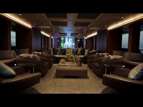 Inside A $35 Million SuperYacht Video