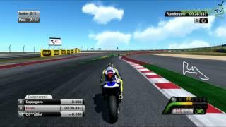 """Moto GP 13 - Gameplay #1 """"Vier Runden in Austin, Texas mit Valentino Rossi"""" #spielekritik.TV"""