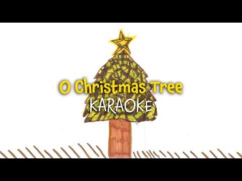 O Christmas Tree (instrumental)  | Christmas Carols - lyrics video for karaoke