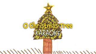 O Christmas Tree (instrumental - lyrics video for karaoke)