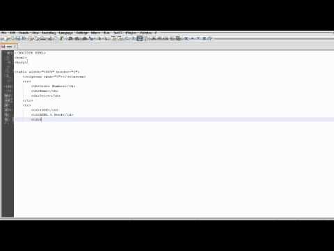 HTML 5 Tutorials - The Colgroup Tag
