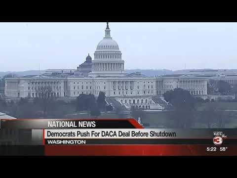 Sen. John Kennedy comments on government shutdown