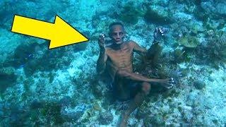Estas Pessoas Vivem na Água! A Curiosa Vida Destas Pessoas que Ninguém Conhecia!