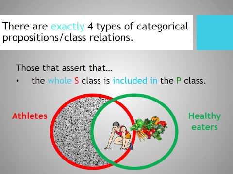 A Crash Course in Formal Logic Pt  5a: Categorical Statements