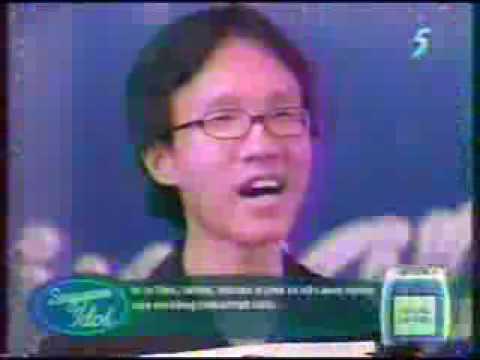 Singapore Idol 1 (2004) - Patrick Khoo sings 'Careless Whisper' auditions
