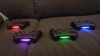 Ps4 kolunun (DualShock 4) ışığının rengini değiştirme.