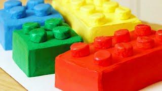 WIE MAN EINEN LEGO-KUCHEN - NERDY NUMMIES