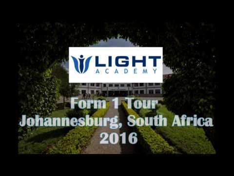 Light Academy Form 1 Johannesburg, South Africa Tour