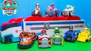 Щенячий патруль новые Машинки Развивающие Мультики для детей с Игрушками Щенячий Патруль новая серия