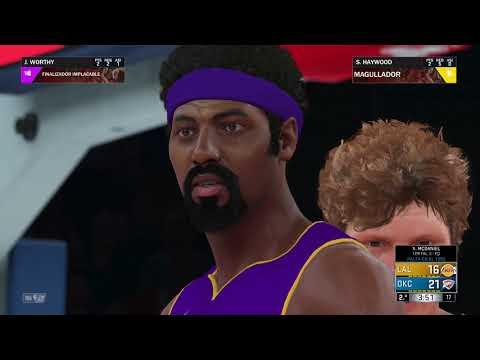 NBA 2K18   All-time Lakers VS. All-time Thunders