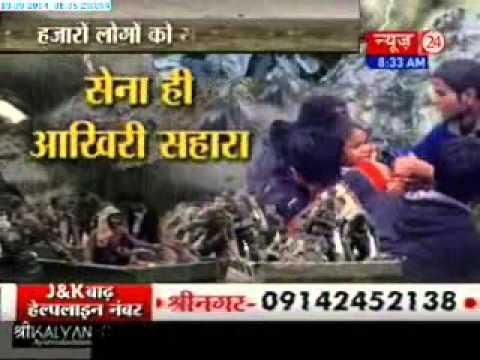 Massive rescue operations on, lakhs still stranded in J-K