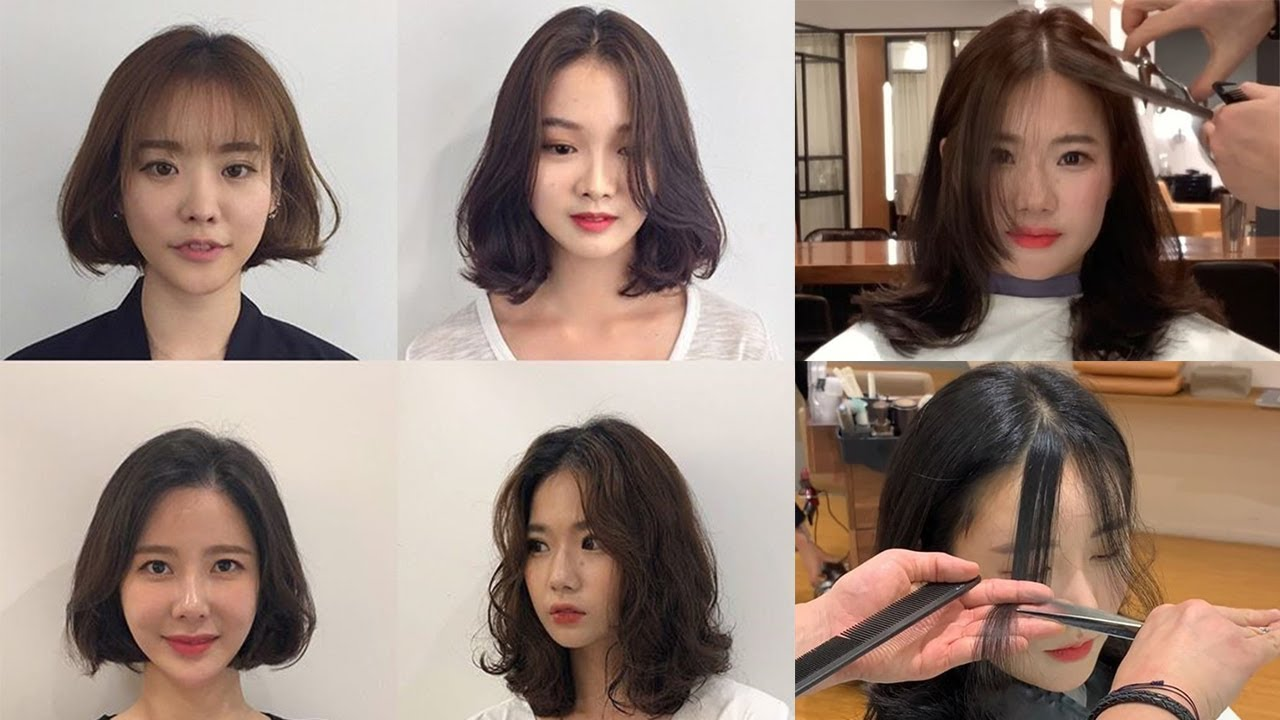 Easy Cute Korean Haircuts 2019 How To Cut Bangs Hair Beauty Styles Youtube