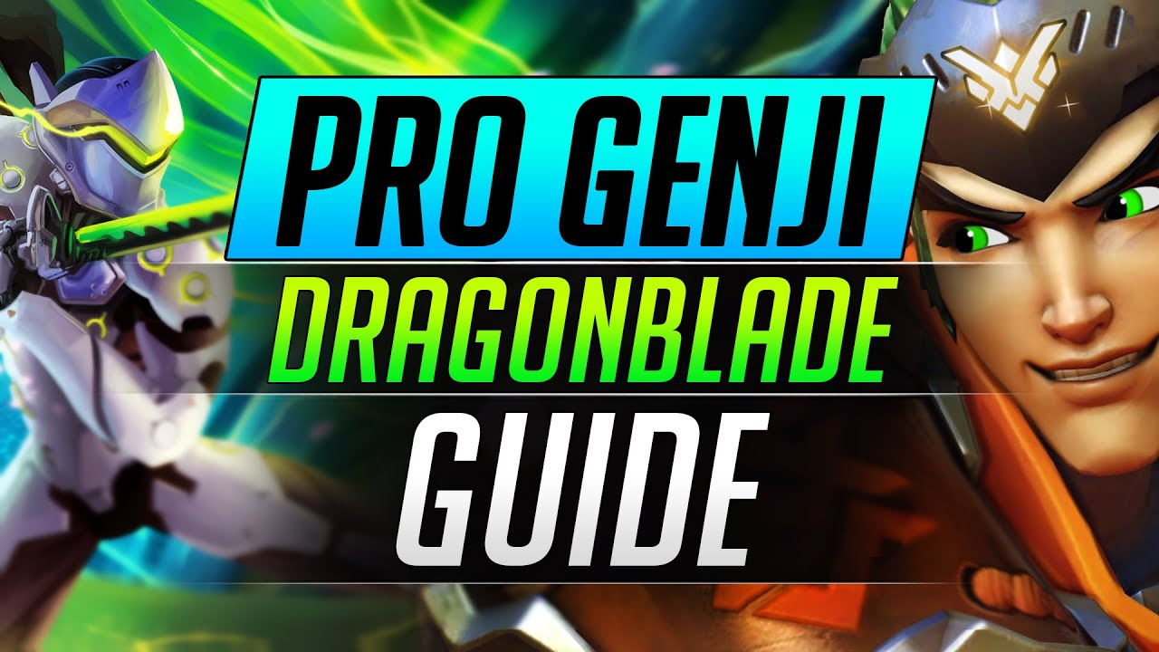 How to Become a PRO GENJI - Advanced Dragonblade Ult Guide - Overwatch Tips and Tricks